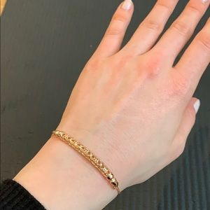 "NIB Kendra Scott adjustable ""gilly"" bracelet"